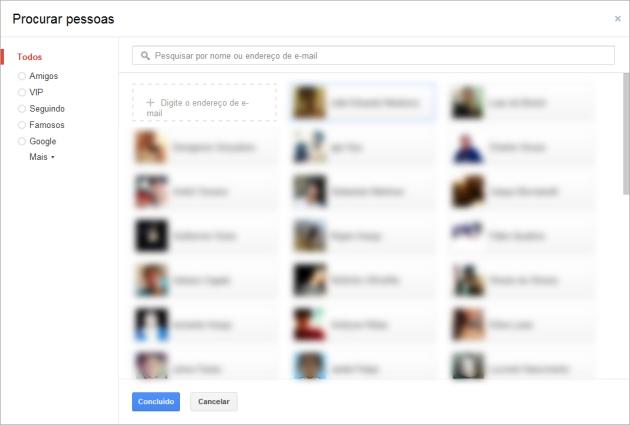 Procurar Pessoas Google +